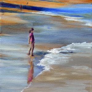 Receding tide-nw