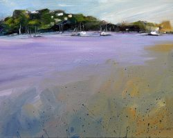 """Afternoon at Folly Point"" 2011 oil. 30x40cm. Available from Suzy King."