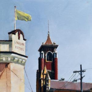 """Jane Darling"" oil on canvas. 31x31cm. Framed. On show: 12-13 November at Balmain Art Show"