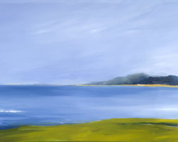 """Low Tide"" 2011. Oil 51x153 cm. Private Collection.  Limited edition reproductions: 30x76cm, 51x153cm and 80x200cm."