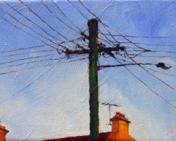 """""""Coulon & Prosper"""" 2013 oil on canvas 13x18cm"""