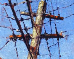 """Evans #4"" 2012 oil on canvas 15x15cm"